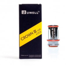 UWELL CROWN 3 COIL .25 .5 - 4PACK
