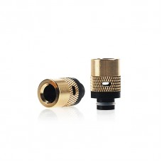 BRASS&DELRIN ADJUSTABLE AIR FLOW WIDE BORE DRIP TIP