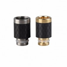 STAINLESS STEEL & CARBON FIBER WIDE BORE DRIP TIP