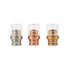 SHORT GLASS&METAL WIDE BORE DRIP TIPS