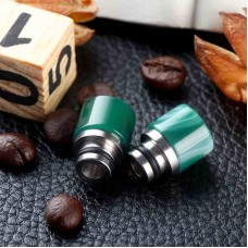 PREMIUM AGATE STONE & STAINLESS STEEL 510 DRIP TIP