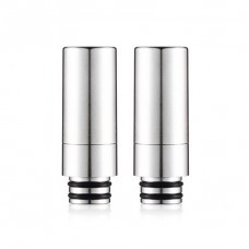 LONG PREMIUM STAINLESS STEEL ASSEMBLE 2 READING 510 DRIP TIPS