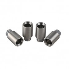 SMOOTH WIDE BORE STAINLESS STEEL DRIP TIP