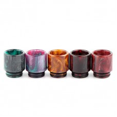 RESIN DRIP TIP FOR SMOK TFV12, TFV8 & TFV8 BIG BABY/SMOK SKYHOOK/GEEKVAPE GRIFFIN/KENNEDY/CUSTOM VAPES GOON/COMPLYFE BATTLE/DESIRE MAD DOG RDA'S