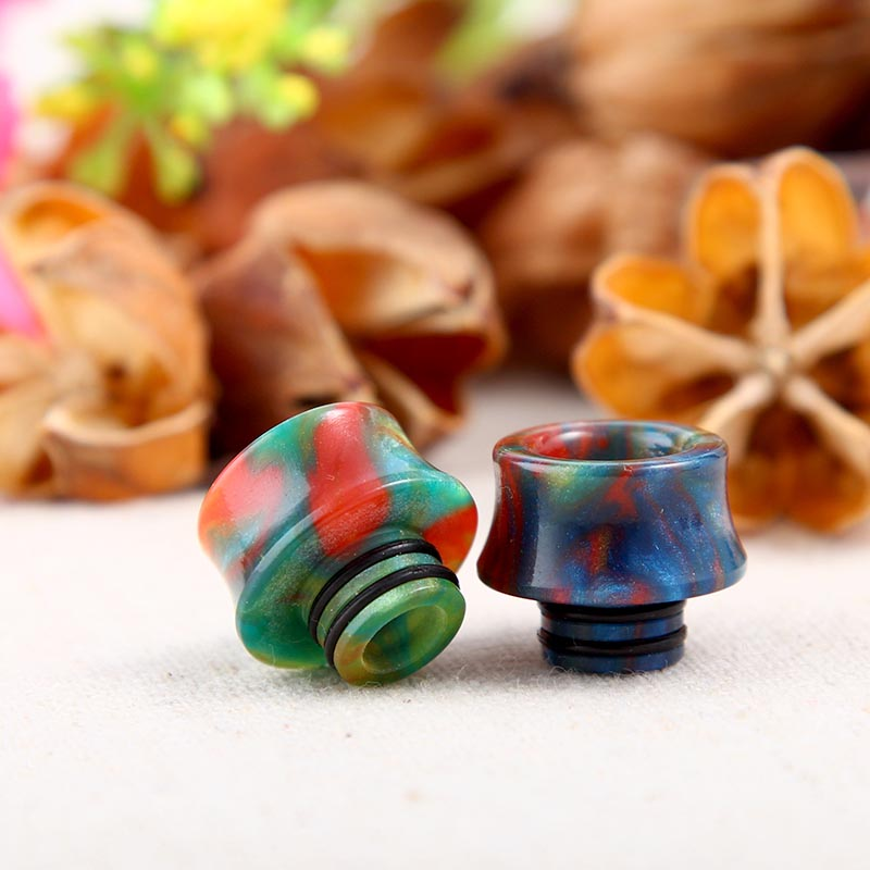 2 99 Large Resin Twin O Ring Wide Bore 510 Drip Tips