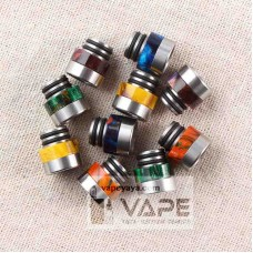 PREMIUM RESIN&STAINLESS STEEL 510 WIDE BORE DRIP TIP