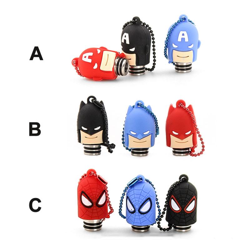 Spdierman Batman 510 Drip Tip With Cover