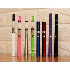 EVOD 4-IN-1 MULTI-VAPE PEN E-CIG PACK STARTER KIT FOR E-LIQUID, OIL, HERB, WAX(650MAH, 900MAH,1100MAH)