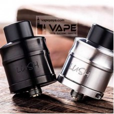 WOTOFO LUSH PLUS RDA - BLACK AND SILVER
