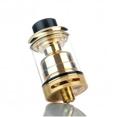 PETRI STYLED 24MM RTA REBUILDABLE TANK ATOMIZER - GOLD