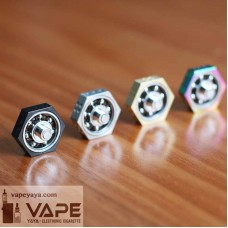 VAPE SPINNER 510 ATOMIZER MOUNTED HAND FIDGET SPINNER TOY FOR E-CIG - COMPARE COILMASTER