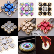 SUPER COOL 9 BEARING GEAR LINKAGE HAND TRI- SPINNER FIDGET TOY EDC GADGETS FOCUS TOY STRESS ANXIETY RELIEF
