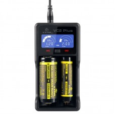 XTAR VC2 PLUS VAPE BATTERY CHARGER