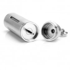 PREMIUM STAINLESS STEEL REFILLABLE JUICE BOTTLE (20ML)
