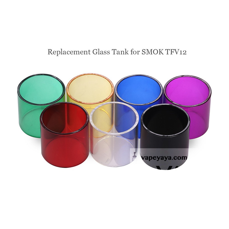 ... RAINBOW REPLACEMENT GLASS TUBE KIT FOR SMOK TFV12 TANK ...