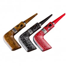ROFVAPE WITCHER STALIN E-CIGARETTE PIPE 40W KIT - 3.0ML&1000MAH - WOOD BLACK RED TEXTURE OPTIONAL