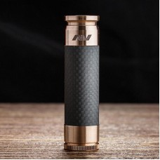 AV ABLE LYFE STYLE 18650 MECH MOD KIT - BLACK CARBON FIBER EDITION