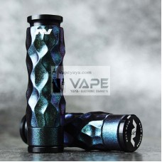 AVID LYFE AV DIMPLE CHAMELEON STYLED GYRE MECHANICAL MOD KIT - DARK GREEN EDITION