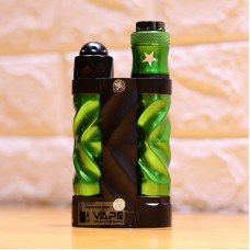 AVID LYFE GYRE STYLE SERIES MECHANICAL BOX MOD KIT- GREEN
