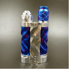 AVID LYFE GYRE STYLE SERIES MECHANICAL FAST TWIST BOX MOD KIT - LIMITED EDITION - BLUE