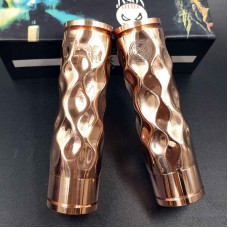 AVID LYFE STYLE COPPER DIMPLE GYRE MECH MOD - WITH HUTCHISON DESIGNS LOGO