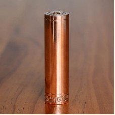 BROADSIDE STYLE 18650 MECHANICAL MOD - BRIGHT POLISHED COPPER