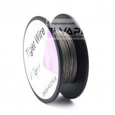 TIGER WIRE COIL - KANTHAL A1 0.2*0.8+26GA 15FT 5M