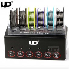 UD 6 IN 1 WIRE BOX BUILDER'S CHOICE - 26GA/28GA KA1 NICHROME NI200 SS316L