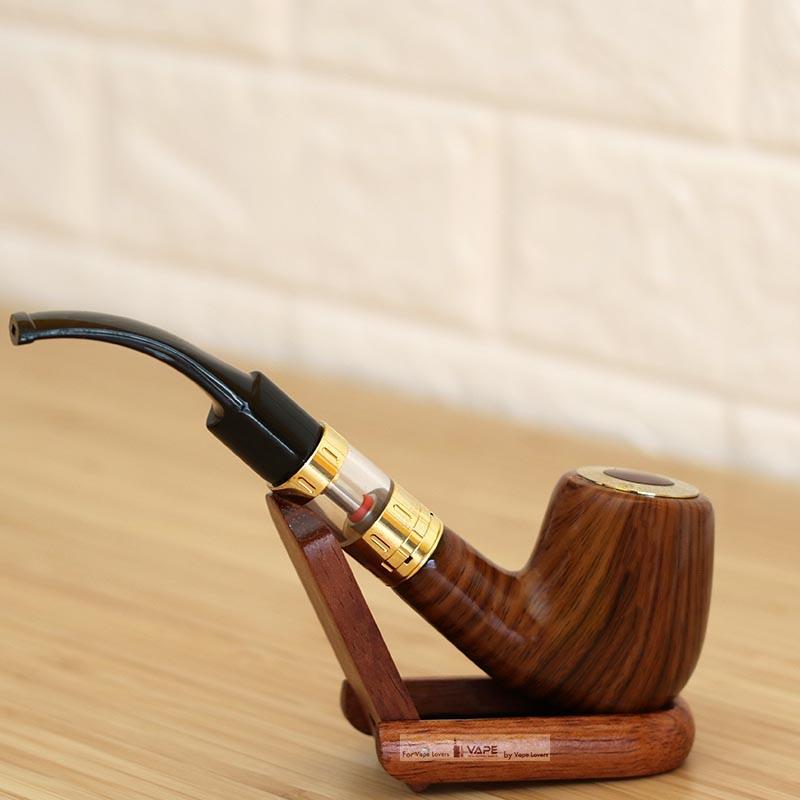 E Pipe 618 Plus Kit E Cigarette Smoking Vape Wood Pipe 12ohm